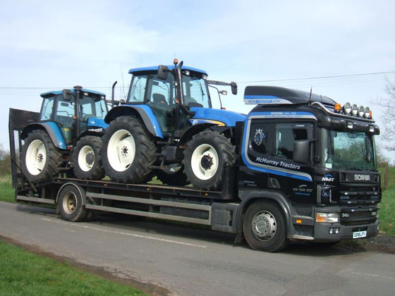 McMurray Tractors Lorry