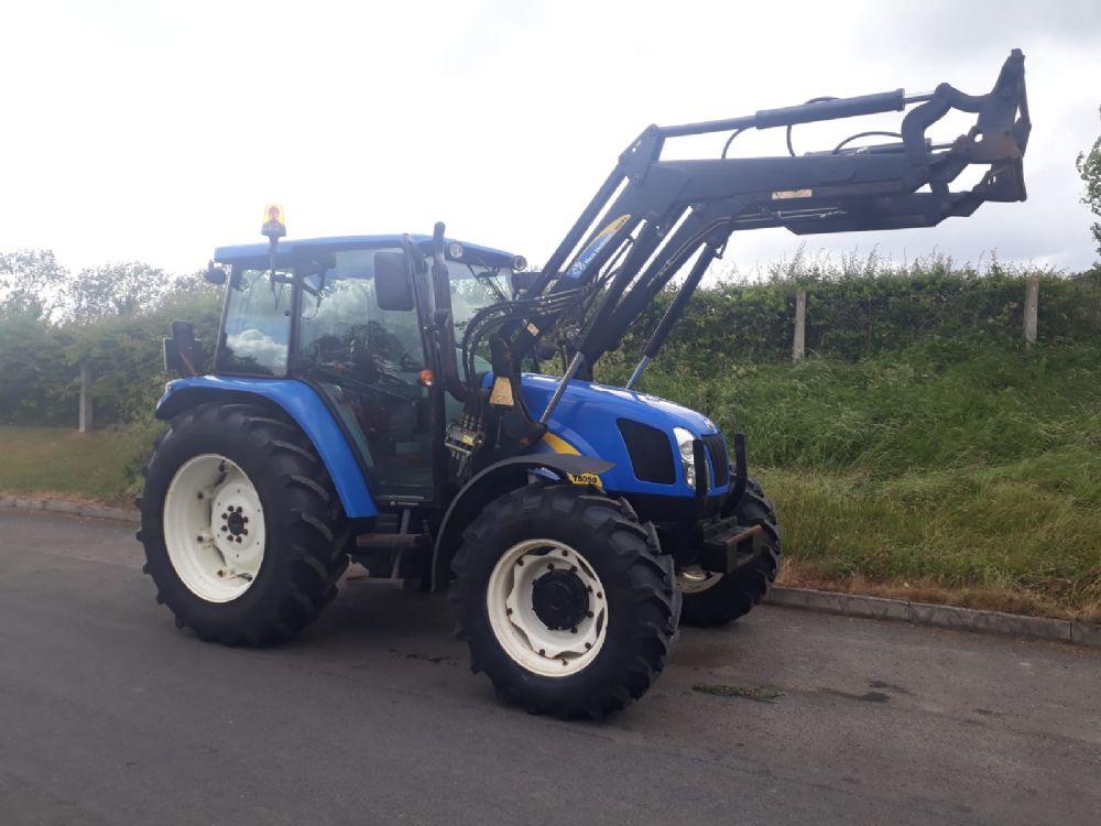 New Holland T5050 - TRACTORS | McMurray Tractors