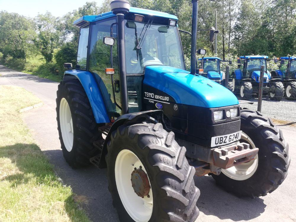 New Holland Ts110 - TRACTORS | McMurray Tractors